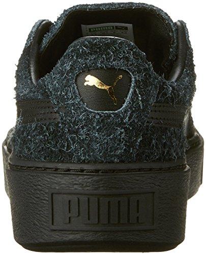 Sneaker Di Moda Donna In Pelle Scamosciata Womens Puma Nera