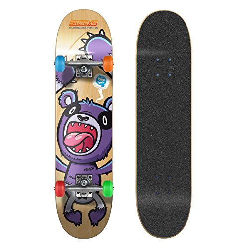 Purchase SkateXS Beginner Panda Street Kids Skateboard