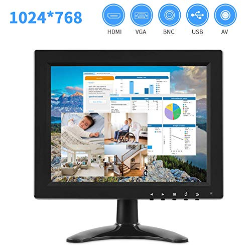 Great Features Of TOGUARD IPS Portable Monitor for Laptop 9.7 Inch Computer Display Screen 1024x768 ...