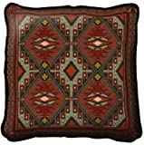Pure Country Weavers Trailwalker Pillow 6315-P 17 inches wide by 17 inches long, 100% cotton