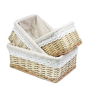 51NfPdepEVL._SS300_ Wicker Baskets & Rattan Baskets