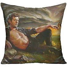 Goddess Aalto Jeff Goldblum Sunset Custom Pillow Covers Standard Size Throw Pillow Cases Decorative Cotton Linen Pillowcase Protecter With Zipper - 18x18 Inch