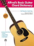 Alfred's Basic Guitar Chord Dictionary, Ron Manus, 0739019376