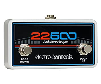Electro Harmonix 665230 efecto de guitarra eléctrica con sintetizador Filtro 22500 Loop Foot Control: Amazon.es: Instrumentos musicales