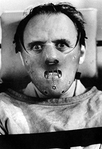(Silence of the Lambs Poster, Horror Film, Cannibal, Mask, Dr. Lecter, Serial Killer)