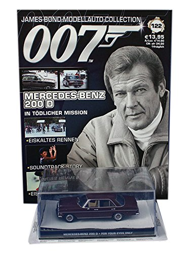 For your eyes only 007 James Bond Car Collection #122 Mercedes-Benz 200D