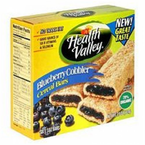 Healthy Valley Blueberry Cobbler Cereal Bar ( 6x7.9 OZ) by Health Valley Natural Foods by HEALTH VALLEY NATURAL FOODS