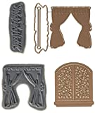 Art Impressions 4749 Die, Window Deco, Bronze
