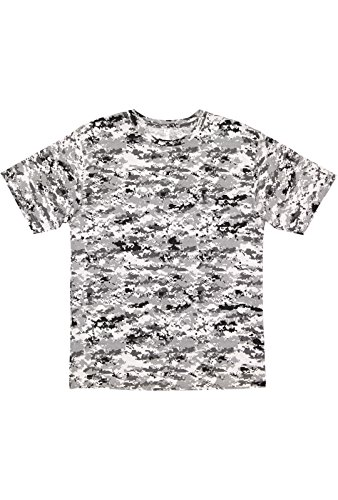 Code Five Men's 100% Cotton Camouflage Crew Neck Short Sleeve Tee