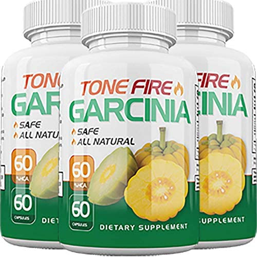 Tone Fire Garcinia Pills – Advanced Weight Loss – Thermogenic Fat Burning Formula 3 Month Supply