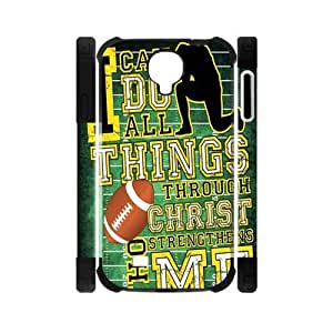 Canting_Good Bible verse I can do all things Custom Dual-Protective Case Shell Skin for Samsung Galaxy S4 I9500 3D