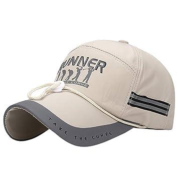 Gorra de Correr Reflectante, MINXINWY Sombrero de Secado rápido ...