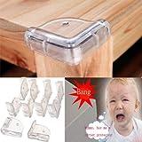 10 Pcs Baby Kid Safety Anti-Crash Table Corner Protector Cushion Pad // 10 pcs bebé seguridad niño antichoque mesa de la esquina almohadilla protector