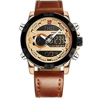 Naviforce Analog-Digital Black Dial Men's Watch-NF9097 Men at amazon