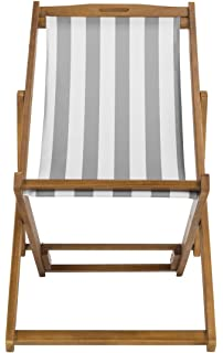 Amazon.com: Reclinables vida Ocio silla plegable para playa ...