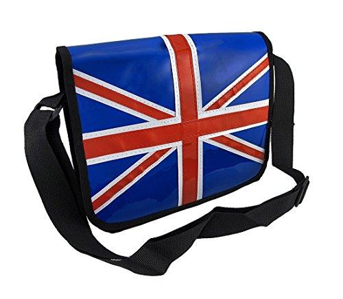 United Kingdom British Flag Union Jack Messenger Bag Purse
