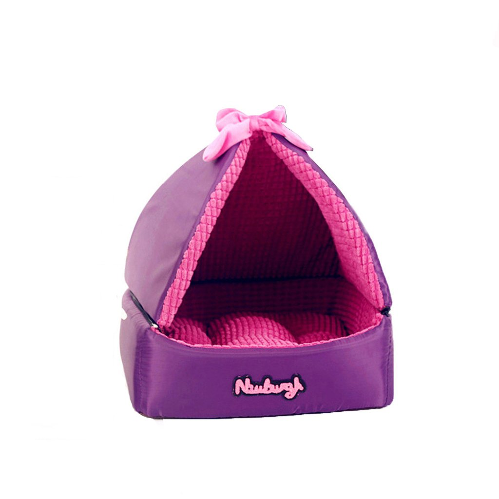 Piccolo KTYX Kennels Small Dog Rimable and Wasable Four Seasons Universal Schnauzer Puppy Summer Cat Bed and Pet House Pet Bed (Dimensione: S)