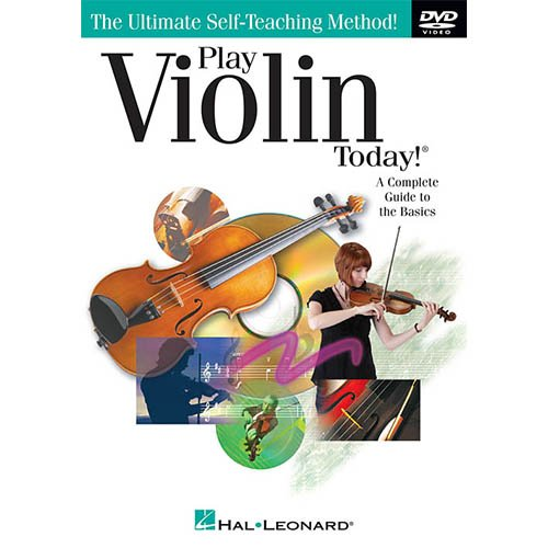 Homeschool Music - Learn the Violin Parent & Child Pack (Classical Book Bundle) - Includes Student 3/4 Violin & Full Size 4/4 Violin w/Case, DVD, Books & All Inclusive Learning Essentials by Ryker Sound Discoveries (Image #5)