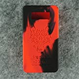 Case for SnowWolf Snow Wolf 200w Mod Silicone Skin Sleeve Skin Wrap Cover Sticker (red/black)