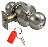Door Hardware Doorknobs And Lever Handle Locks With Restricted High Security Keys (Entrance Knob High Security)