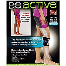 OXOX Therapeutic Beactive Brace Point Pad Leg Be Active for Back Pain Acupressure Sciatic