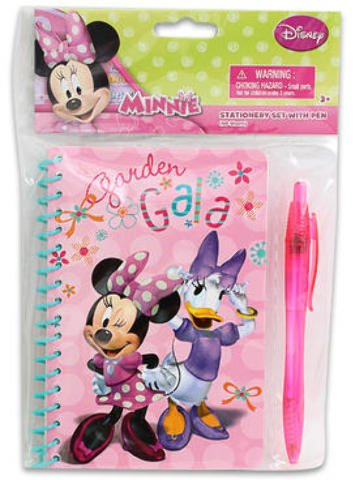 60 Sheet Disney Minnie Mouse Journal w/Pen 48 pcs sku# 1859043MA by Disney
