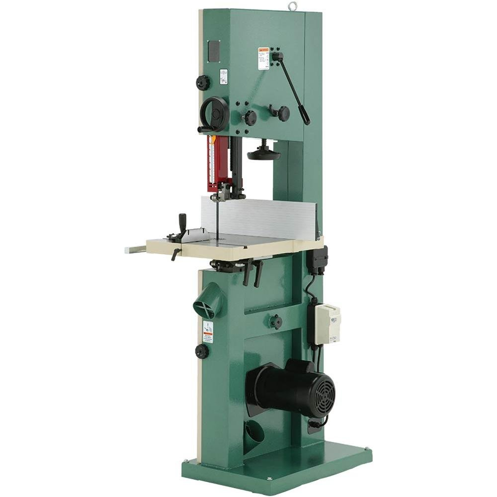 Grizzly G0513X2 Bandsaw with Cast Iron Trunnion, 2 HP, 17-Inch by Grizzly (Image #2)