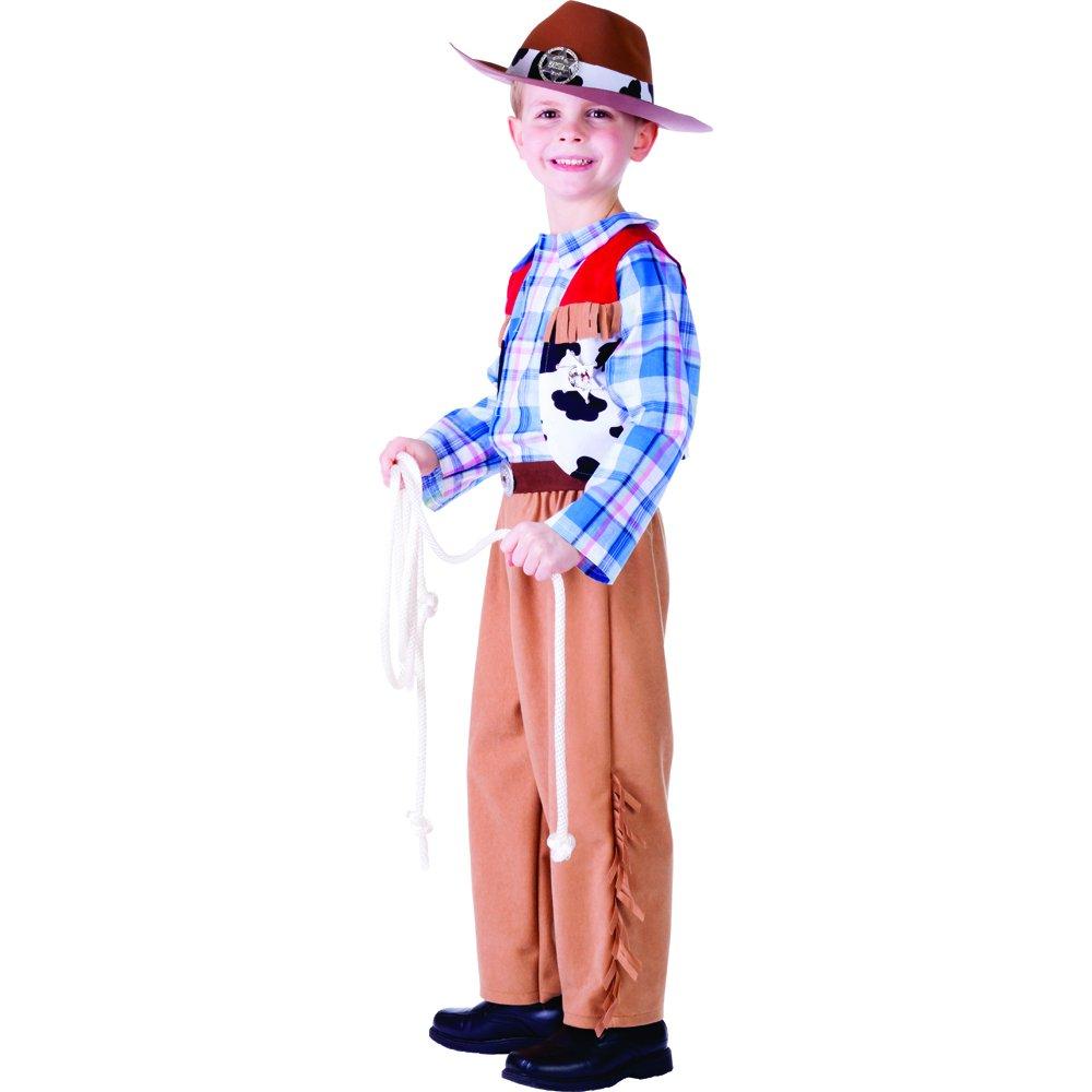 Dress Up America Disfraz de Vaquero Júnior: Amazon.es: Juguetes y ...