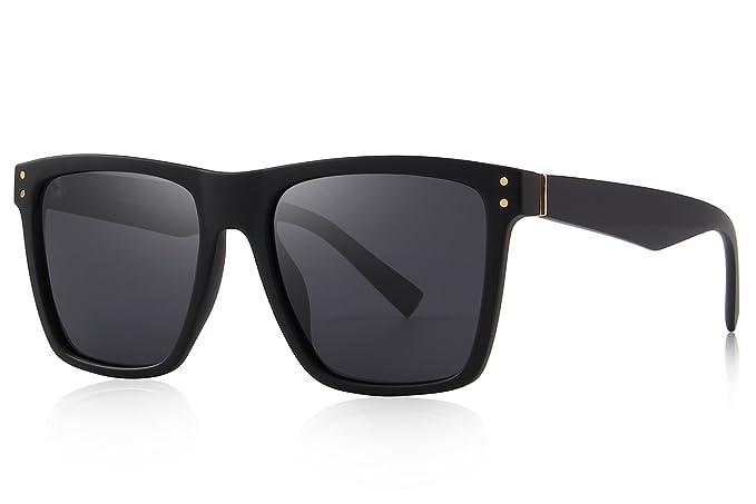552ced180ef MERRY S Polarized Sunglasses Men Women Retro Brand Sun Glasses UV 400  (Black
