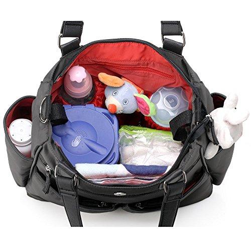 Mengma bebé pañal bolsa de pañales aislante Bandolera Bolsas para cochecito 3colores