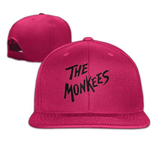 Men's Pop Rock Band The Monkees Logo Flat Along Baseball Cap Snapback