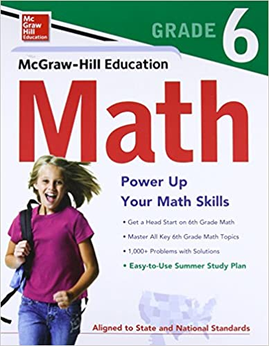 Amazon com: McGraw-Hill Education Math Grade 6