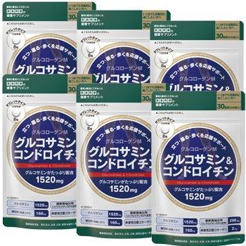 医食同源ドットコム グルコサミン&コンドロイチン WH 240粒 【6個セット】 B01N1G1P4A
