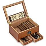 XIFEI Cigar Humidor with High Precision Front
