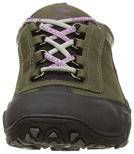 Grey Fina black Shoe mid Ladies Gris Mephisto YIw1dqd