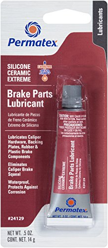 Permatex 24129 Silicone Extreme Brake Parts Lubricant, 0.5 fl. oz. ()