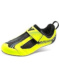 Vittoria Mens THL Evo Mesh Inset Colorblock Cycling Shoes