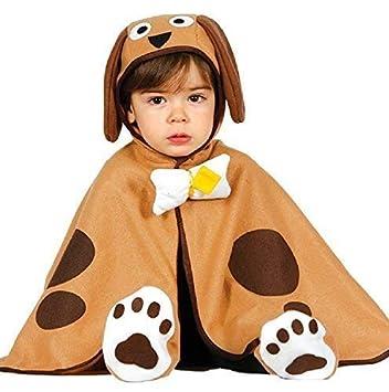 Bebé Niños Niñas Lindo Marrón Cachorro perro animal carnaval ...