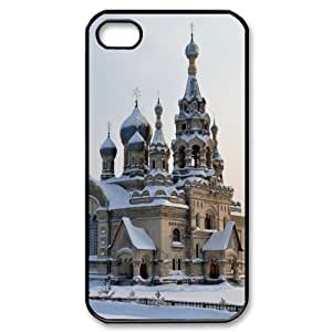 Iphone 4,4S Building Phone Back Case DIY Art Print Design Hard Shell Protection FG092691