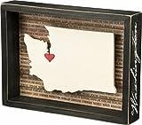 Washington State Box Sign Primitives by Kathy