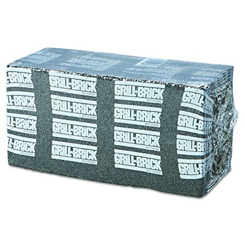 Boardwalk GB12PC Grill Brick, 8 x 4, Black (Case of 12)