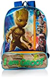 Marvel Boys' Groot Guardians of the Galaxy Backpack, Blue