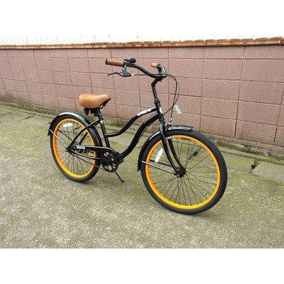 ビーチクルーザー サンタクルーズ ブラック 自転車 BEACH CRUISER SANTA CRUZ BLACK B01LVVHCGD