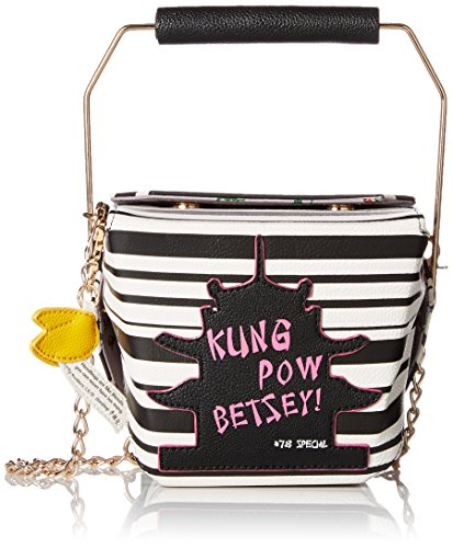 Betsey Johnson Kung Pow Stripe Bj59975h