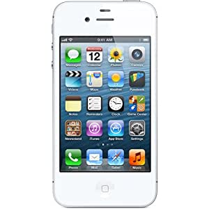 Apple iPhone 4S 16GB, White, for Straight Talk, N
