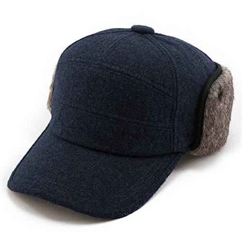 Buy wool baseball earflaps