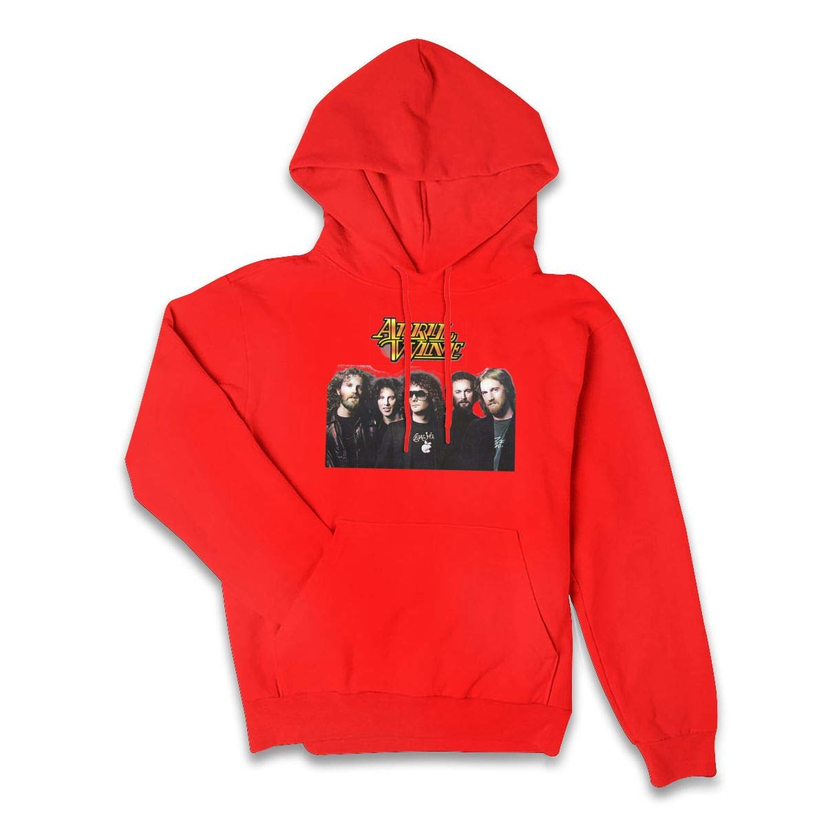Erman Color Name Casual April Wine Music Cool Pullover Hooded Shirts With Pocket X