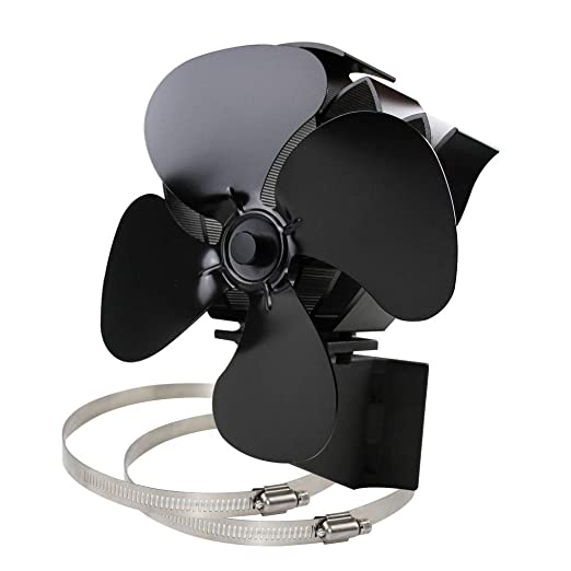 rryilong Ecofan - Ventilador de Estufa silencioso y eficiente ...