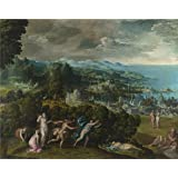 Canvas Prints Of Oil Painting ' Niccolo Dell Abate The Death Of Eurydice ' , 18 x 23 inch / 46 x 58 cm, High Quality Polyster Canvas Is For Gifts And Dining Room, Game Room And Home Theater Decoration