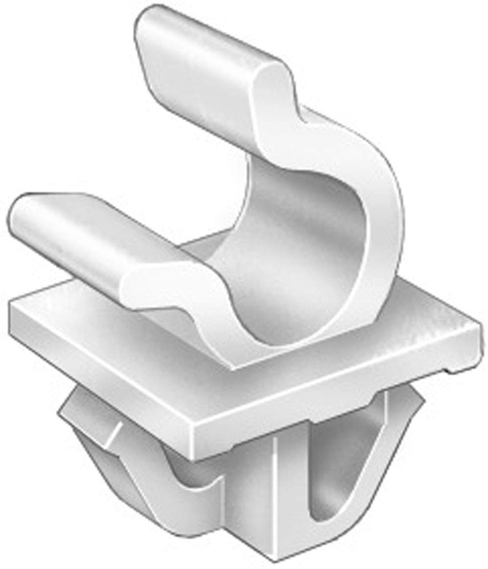 Clipsandfasteners Inc 15 Hood Prop Rod Clips Holds 8mm Rod Compatible with Toyota